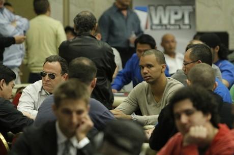 2012 WPT LA 포커 클래식, Gordon Vayo 리드, 데이1 칩5위였던 필 아이비는?