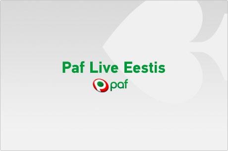 Kvalifitseeru Paf Live turniirile läbi online-satelliitide