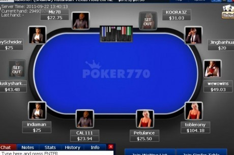 Poker770 introduce mejoras en su software