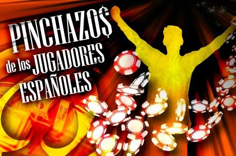 Pinchazos del 29 de febrero y 1 de marzo de los españoles en PokerStars