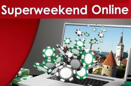 Täna algab esimene Superweekend Online: Triobet lisab €18 000 väärtuses live-pakette!