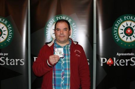 PokerStars Solverde Poker Season - Paulo Vieira vence Etapa #3 no Casino de Espinho