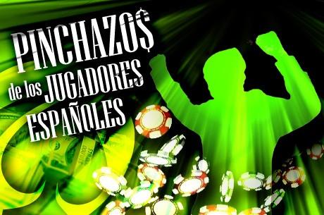 Grandes pinchazos de los jugadores españoles durante el fin de semana en PokerStars