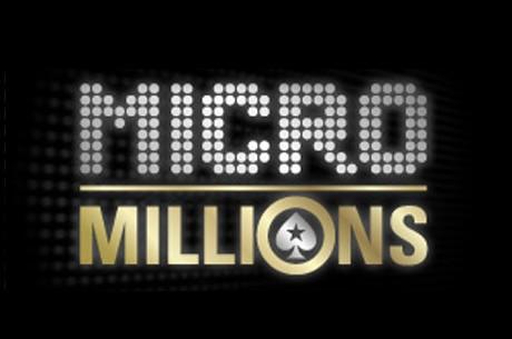 포커스타즈의 새로운 마이크로 밀리언스 토너먼트 시리즈!