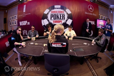 World Series of Poker Europe arrangeres fra d. 29/9 - 4/10