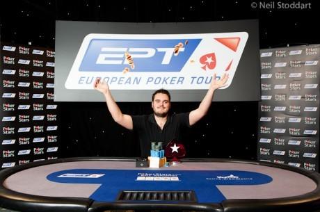 Frederik Jensen第一个大奖EPT Madrid冠军