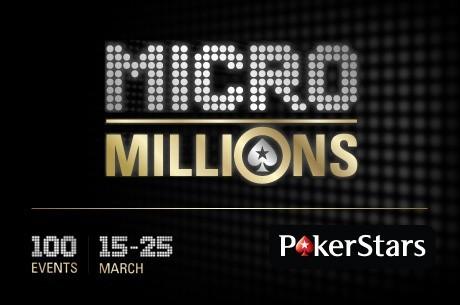 ポーカースターズ<MicroMillions>開催中!