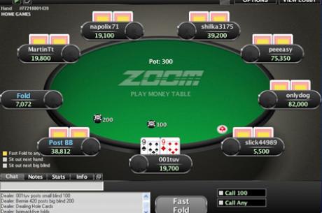 Стратегия за игра в ZOOM Poker