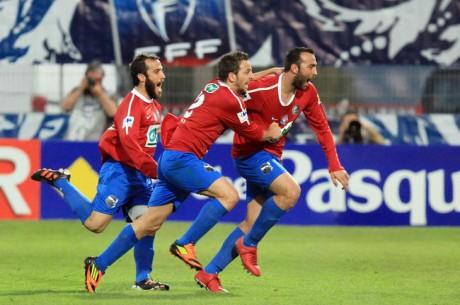 Pronostic Coupe de France : les grosses cotes d'Ajaccio et de Quevilly en demies