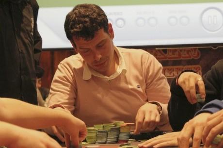Adolfo Valero, chip leader del Día 1B del Evento Principal del CEP Murcia 2012