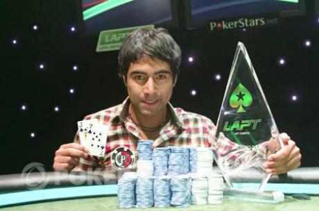Aliro Diaz se proclama ganador del PokerStars.net Latin American Poker Tour de Chile