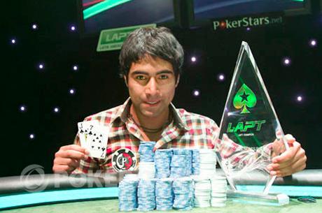 Aliro Diaz mistrzem Latin American Poker Tour Chile