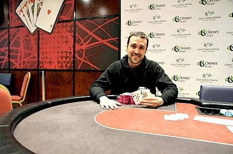 Jordi Martínez, ganador del CEP Murcia 2012