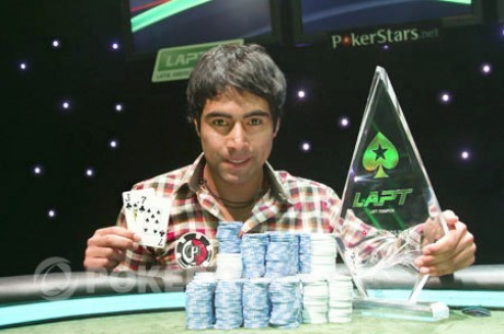 Алиро Диас - чемпион 2012 PokerStars.net Latin American Poker Tour Чили!