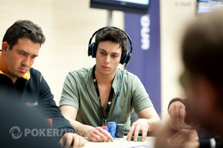 PokerStars.it European Poker Tour Campione Dzień 1a: Davide Andreoni liderem