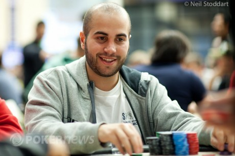 PokerStars EPT Campione Day 1b: зірки PokerStars Team у грі, Ніколас Чоуті...