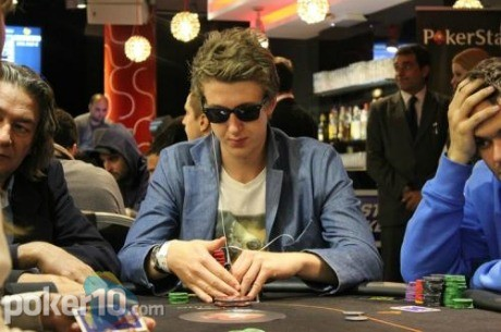 Theodor Lothman, líder del Día 1B de Estrellas Poker Tour Valencia 2012
