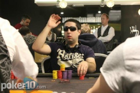 Rubén González, líder del Día 3 del Estrellas Poker Tour Valencia 2012