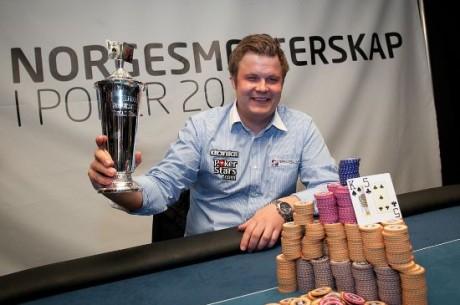 Steffen Retterholdt er Norgesmester i poker 2012
