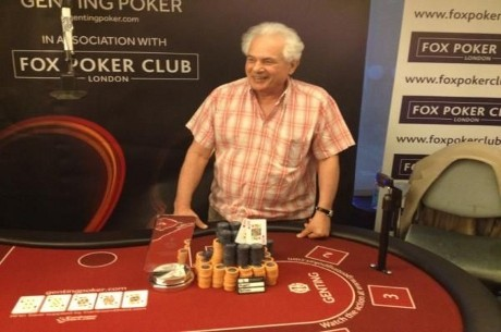 Albert Sapiano Wins Genting Poker Series London