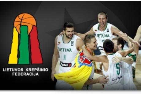 PokerStars.net tampa oficialia Lietuvos krepšinio rinktinės rėmėja ir dovanoja bilietus!
