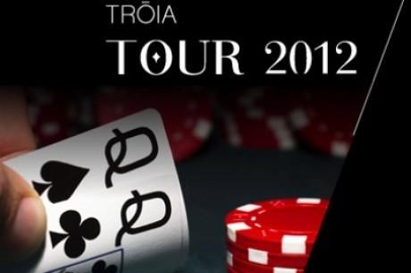 Tróia Tour #4 - Rúnem Castro lidera dia 2