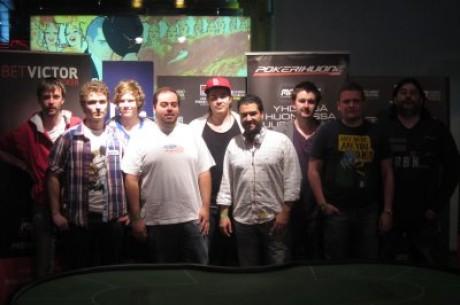Finec Jouhkimainen zmagal na turnirju European Masters Of Poker v Lizboni