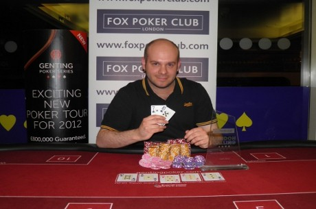 George Alexander Wins Fox Poker Club London Calling Main Event