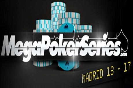 Las MegaPokerSeries se desplazan a la capital española