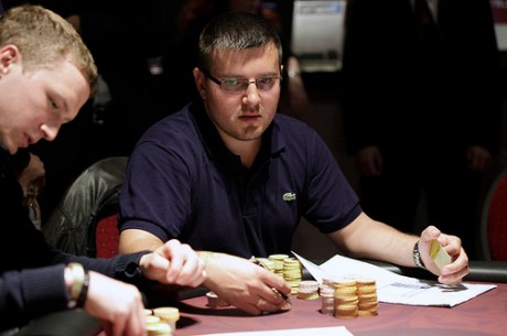 World Poker Tour Viena 2012 Dia 1b: Darko Stojanovic Reclama a Liderança