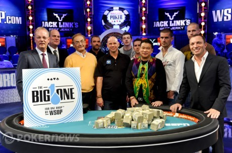 30 spillere registreret til Big One - $12.266.668 til vinderen!