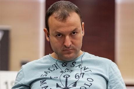 Scanell Čiplider nakon Dan 1a Eureka Poker Turneje u Hrvatskoj