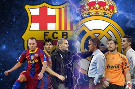 Pronostic Clasico FC Barcelone – Real Madrid : le Real coté à 4.60, le Barça à 1.52
