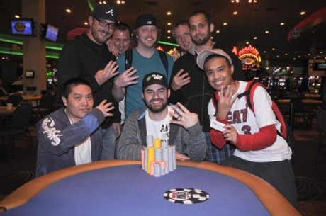 WSOPC Harrah's St. Louis Day 1: Cartwright Wins Fourth Ring, Tries for Title Defense