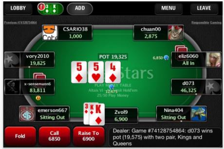 PokerNews Boulevard: Speel PokerStars op je iPhone en iPad & WPT Hard Rock