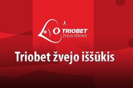 """Savaitgalį """"Triobet žvejo iššūkis"""" ir tiesioginiai PokerNews reportažai"""