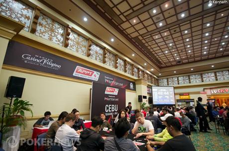 PokerStars.net Asia Pacific Poker Tour Cebu: Amit Varma liderem przed dniem finałowym