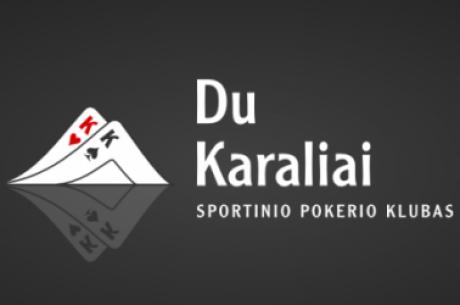 Du Karaliai pristato Pokermania.lt turnyrų seriją