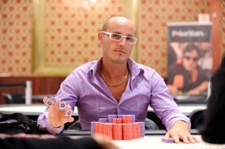 Muhamet Perati, líder del Día 1A de la Gran Final del PokerStars Italian Poker Tour
