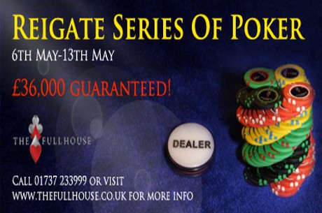 Reigate Series of Poker Starts Today