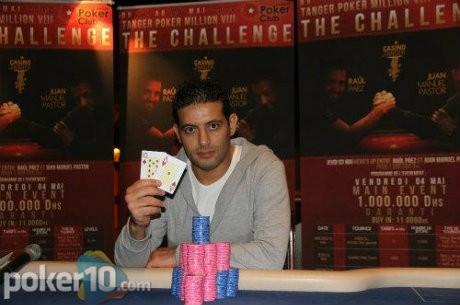 Khadil Ayadi le gana a Manuel Sadornil el Tanger Poker Million VIII