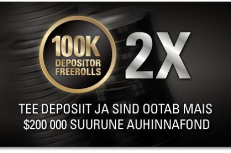 Maikuus $200 000 eest freerolle PokerStarsis