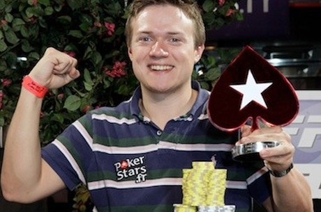 Benjamin Dobson, ganador del Main Event de las France Poker Series Amnéville 2012