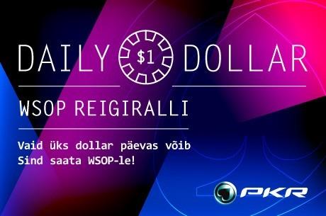 Hea PokerNewsi mängija! Võida PKR-s $4500 WSOP pakett!