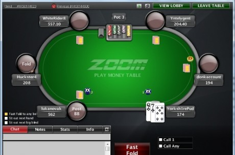 PokerNews Boulevard: PokerStars lanceert Zoom Poker (Mobile), Weekly Rant, en meer..