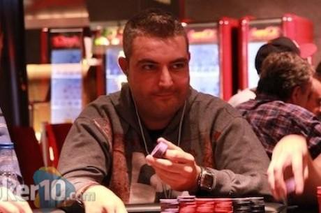 Jaume Niell, chip leader del Día 1B del Main Event del PokerStars Estrellas Poker Tour Ibiza...