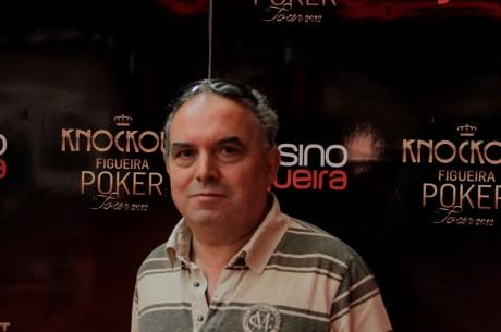 Figueira Poker Tour: Fernando Remígio lidera à entrada do dia 2