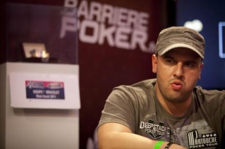 $25,000 World Poker Tour World Championship 2. nap: Mizrachi vezet, Nagygyörgy is továbbjutott