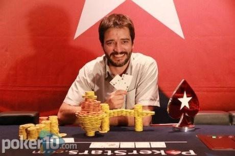 Пабло Рохас - чемпион Estrellas Poker Tour Ibiza