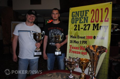 Gnuf Open 2012 pagrindinio turnyro čempionu tampa Liutauras Armanavičius